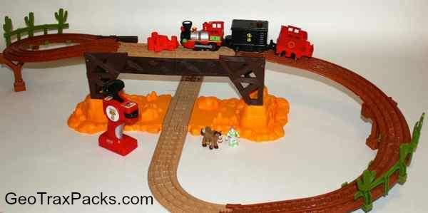 New Toy Story 3 Train : T toy story exploding bridge rc train set